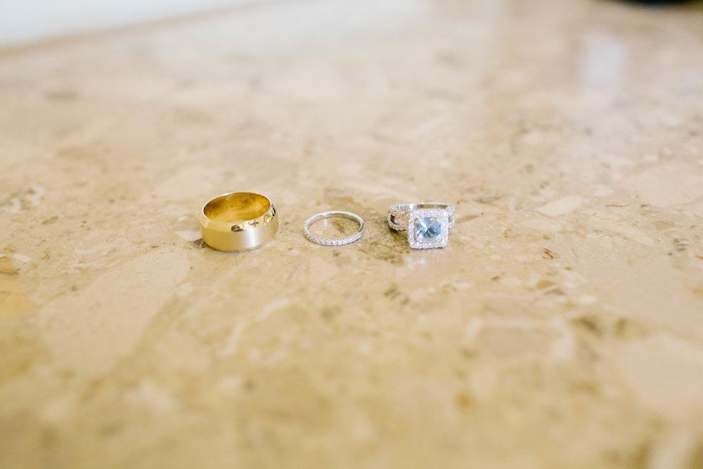 Wedding Rings Detail Shot- Arizona Wedding Photographer