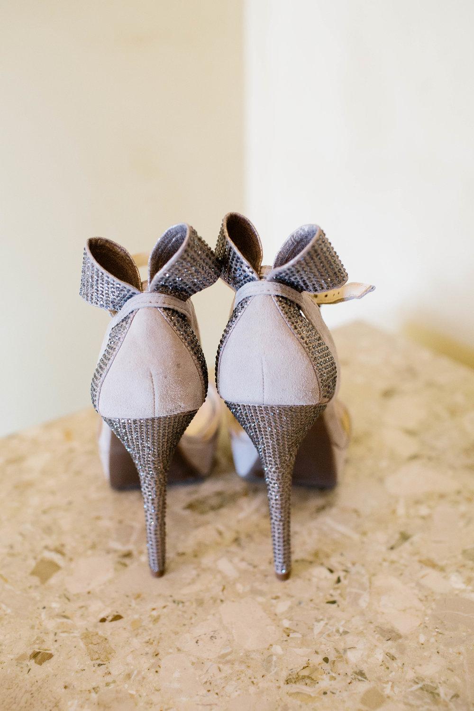 Wedding Shoes- Arizona Wedding Photographer