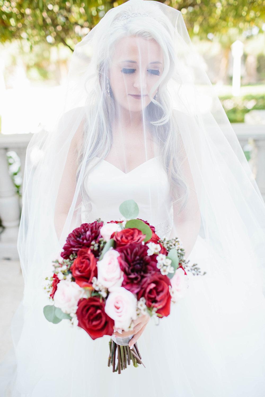 Bridal Portrait at the Ashley Castle- Arizona Wedding Photographer