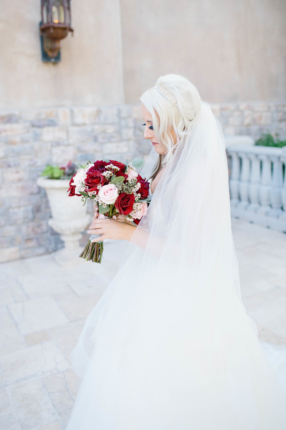 Bridal Portrait at the Ashley Castle- Arizona Wedding Photographer