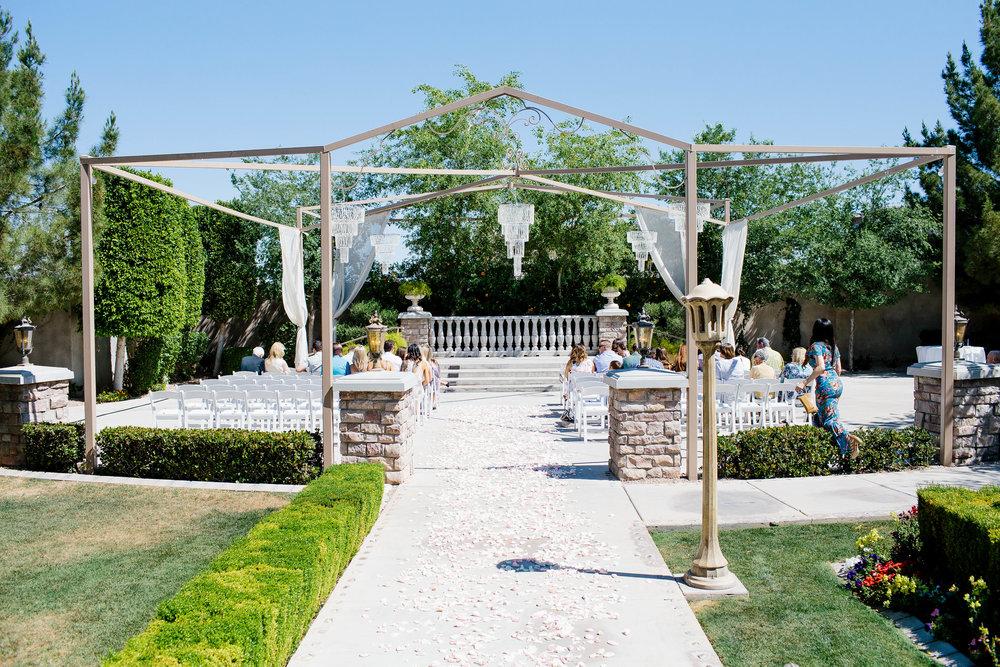 The Ashley Castle Ceremony Space- Arizona Wedding Photographer