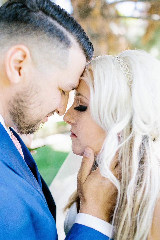 Bride and Groom Intimates at the Ashley Castle- Arizona Wedding Photographer