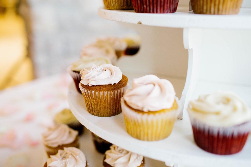 Wedding Cupcakes at the Ashley Castle- Arizona Wedding Photographer