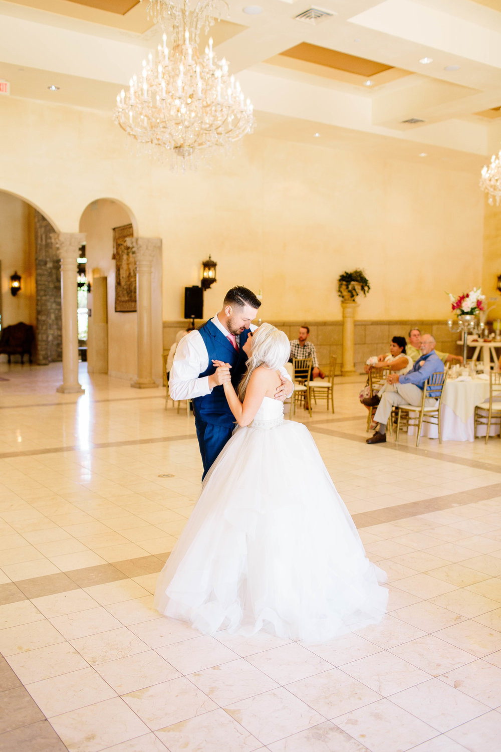 Bride and Groom First Dance- Arizona Wedding Photographer