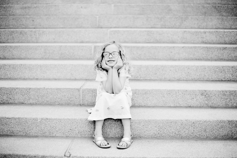 Boise Capital Building- Boise Capital Family Photos- Boise Capital Family Session- Boise Family Photographer- Idaho Family Photographer- Downtown Boise Family Session- North End- Downtown Boise- Child Portraits