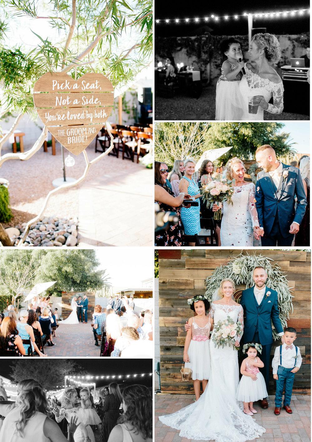 Arizona Backyard Wedding- Arizona Wedding Photographer