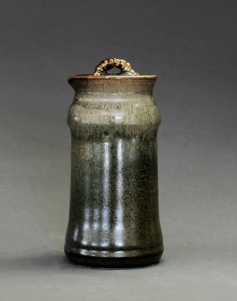 Gas fired jar by Nina M.    Photography by Erin Berry