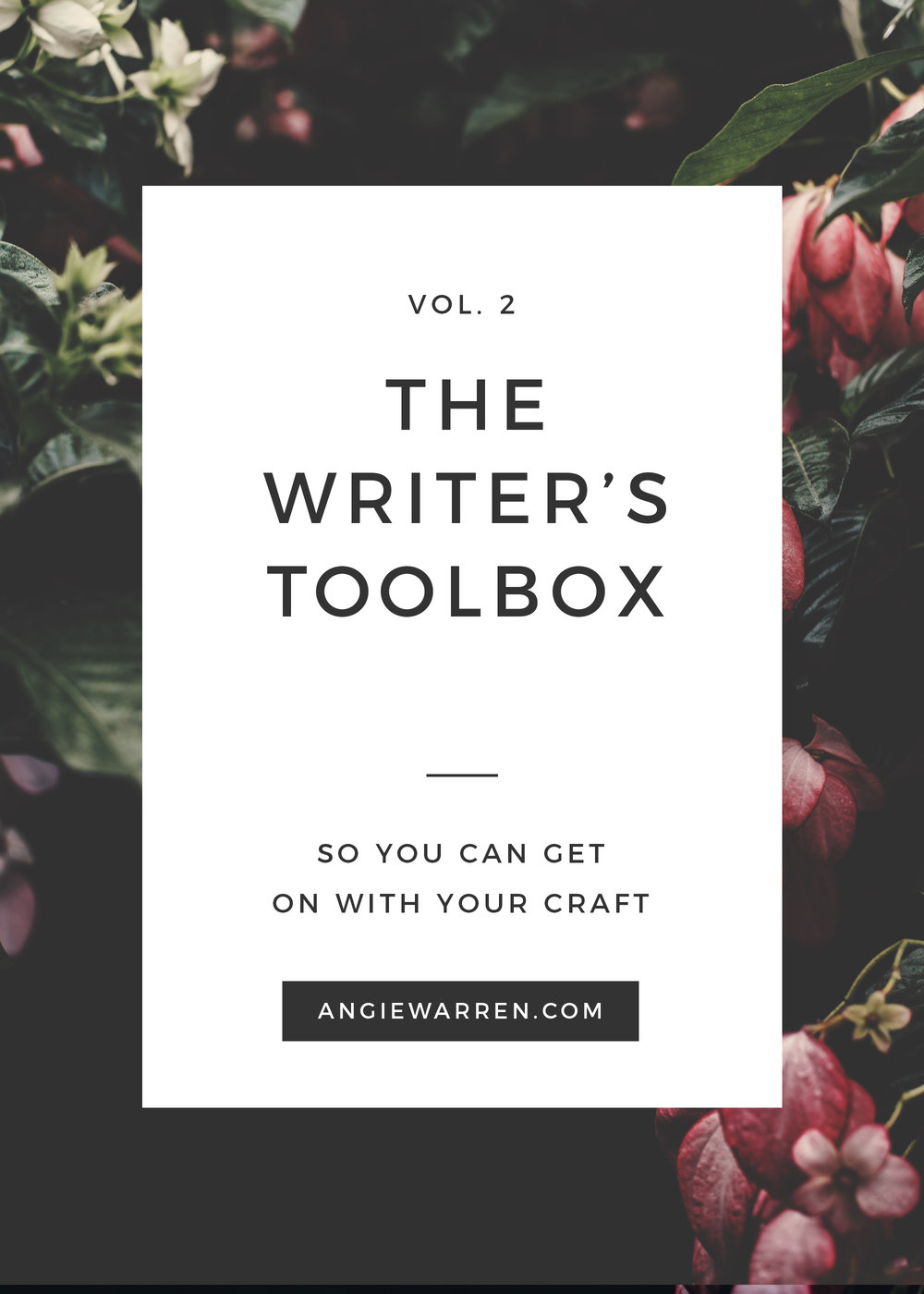 ANGIE WARREN // writer's toolbox