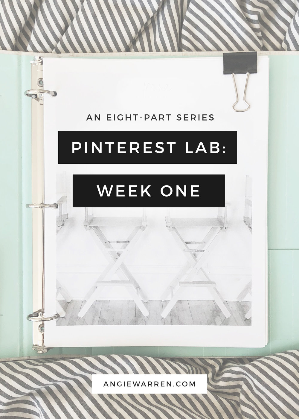 The Pinterest Lab - a Series - Angie Warren - www.angiewarren.com