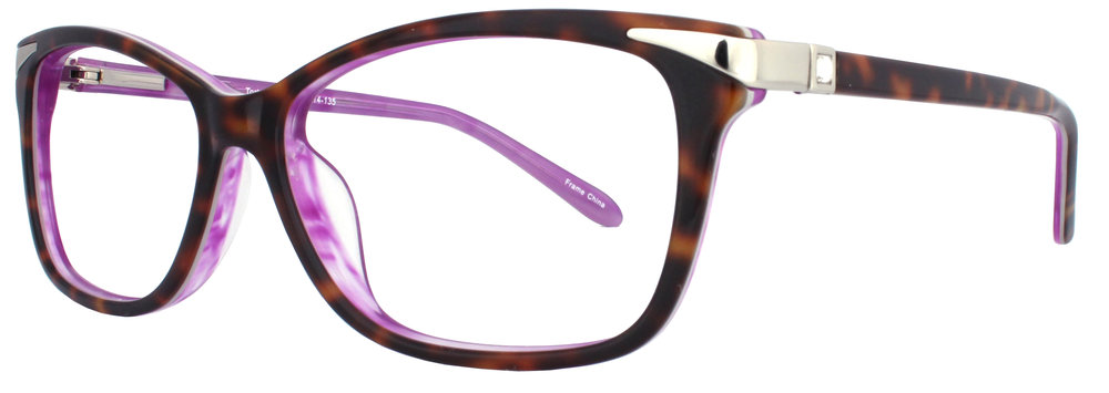 INT202:  54-14-135 Available in Tortoise/Burgundy, Tortoise/Purple