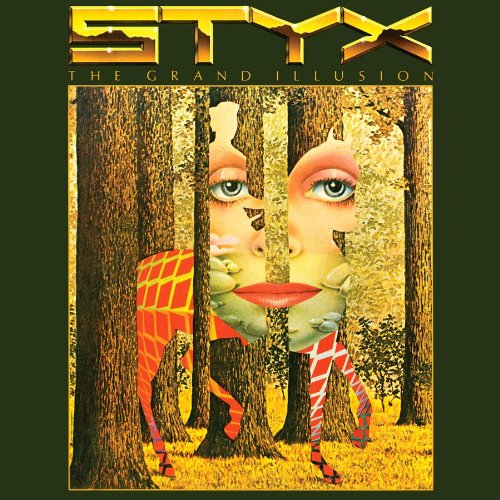 Styx Grand Illusion 180 gram vynal pressing