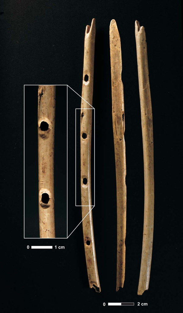mammoth-ivory flute 43,000 years old