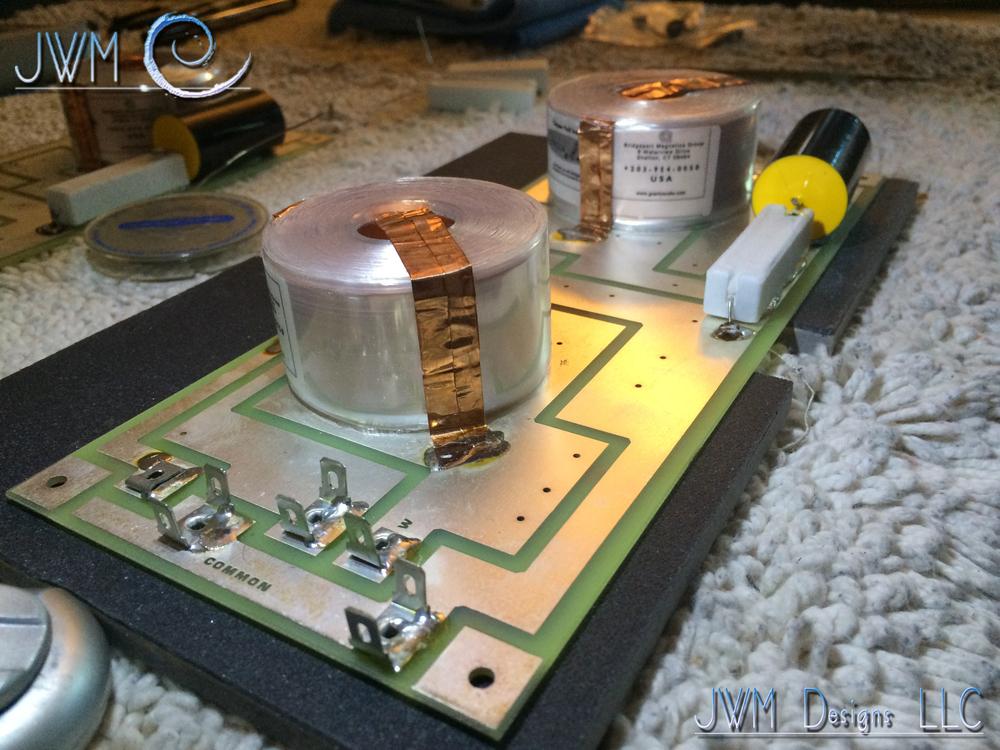Circuitgreen Actual Circuit Red Linkwitzriley Crossover