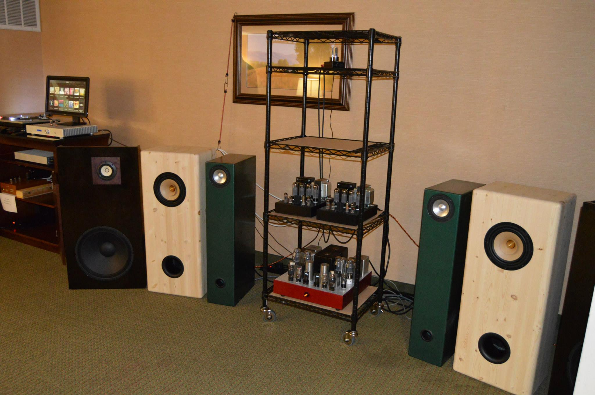 Free Range Full Range Speakers! Really nice to see this stuff.