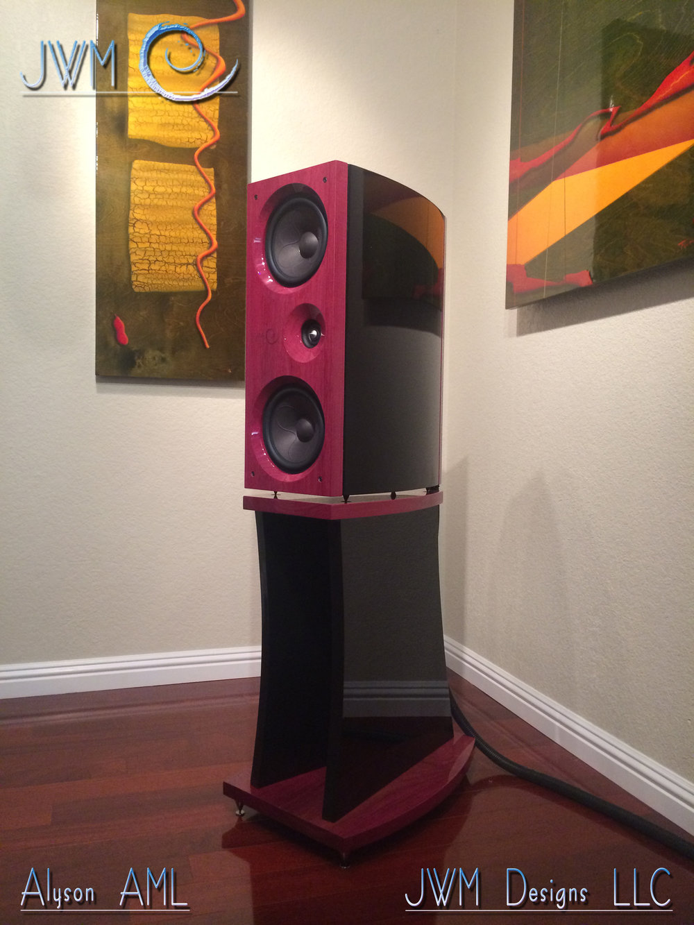 Press Awards Jwm Acoustics Bi Wiring Speakers The Design Is Culmination Of Designer Joshua Miles 30 Years Building For Bands Home Audio And Pro Use