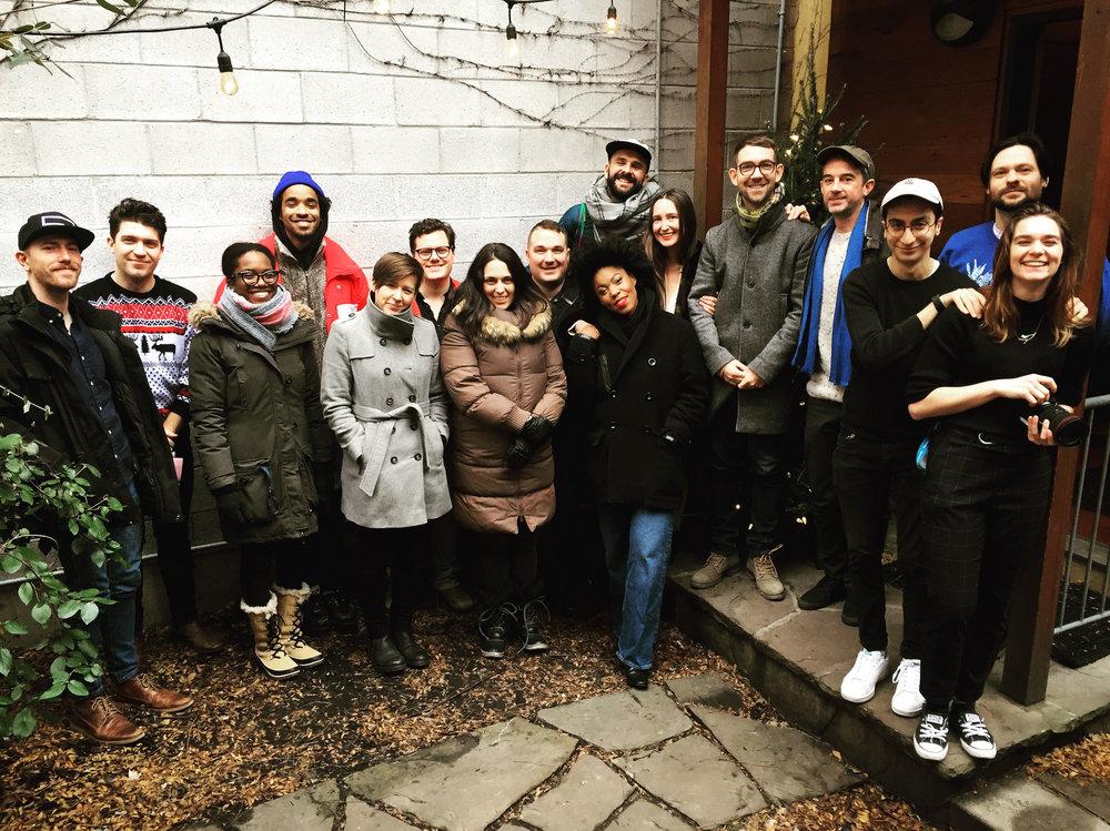 House of Strombo Taping, Toronto, ON. December 13, 2018.