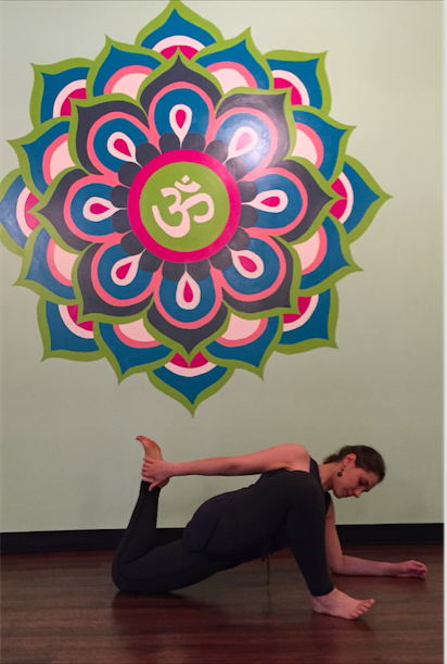 yours truly in the mandala room at extend, where we'll yin and yang it up on sunday