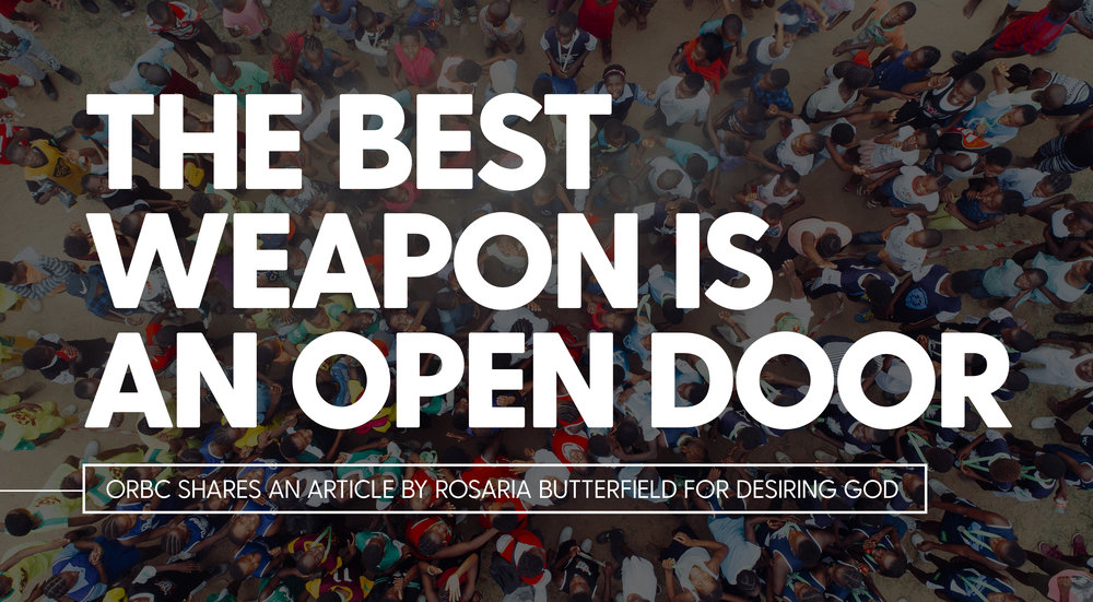 The best weapon is an open door.jpg