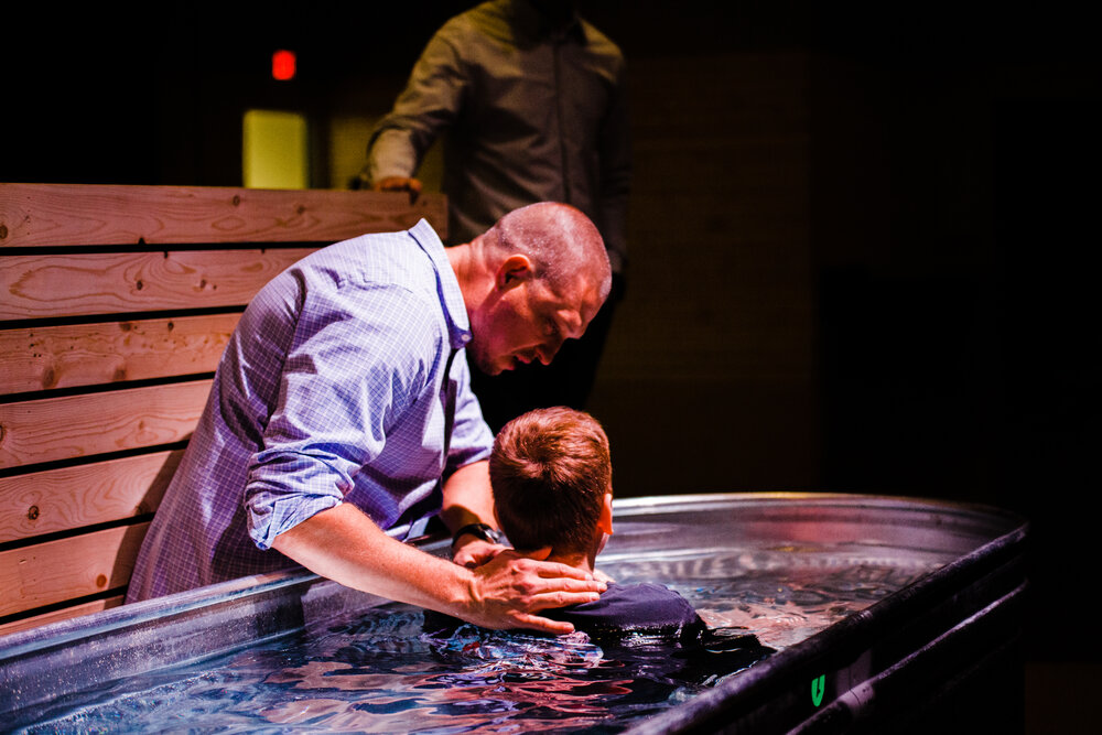 Interested in Baptism?