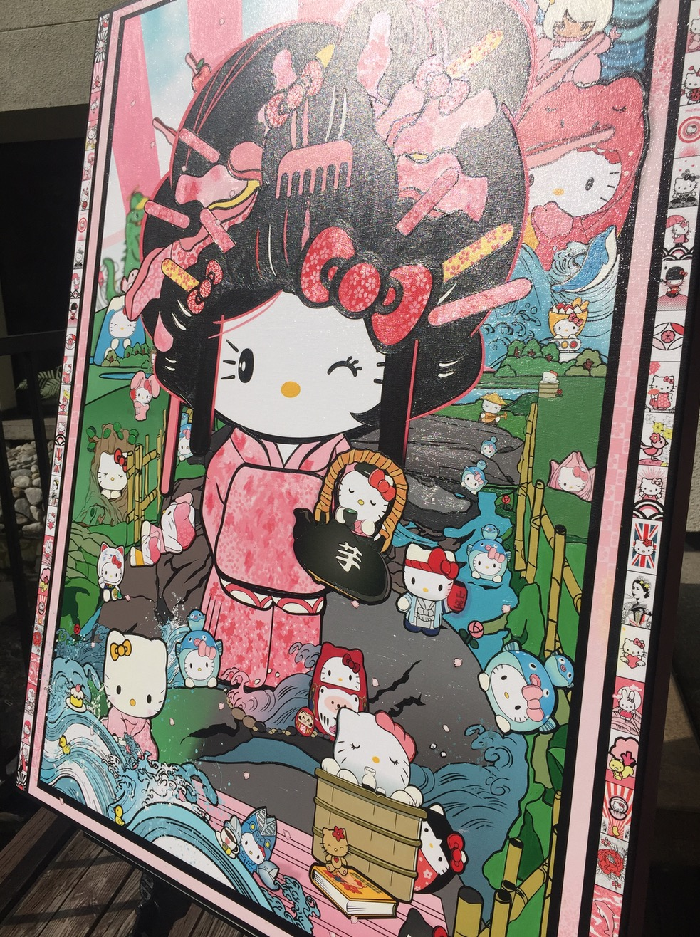 Hello Kitty Art - Sean Danconia 8.jpg
