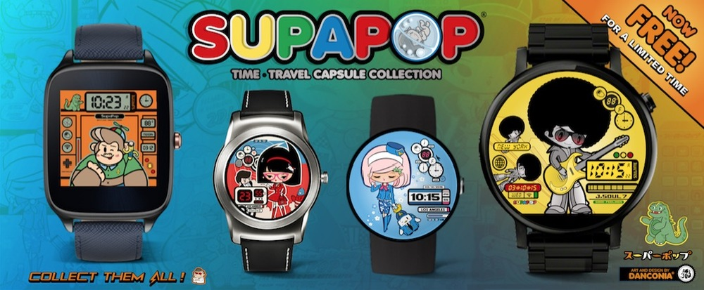 Facer Smart Watches | SupaPop by Danconia