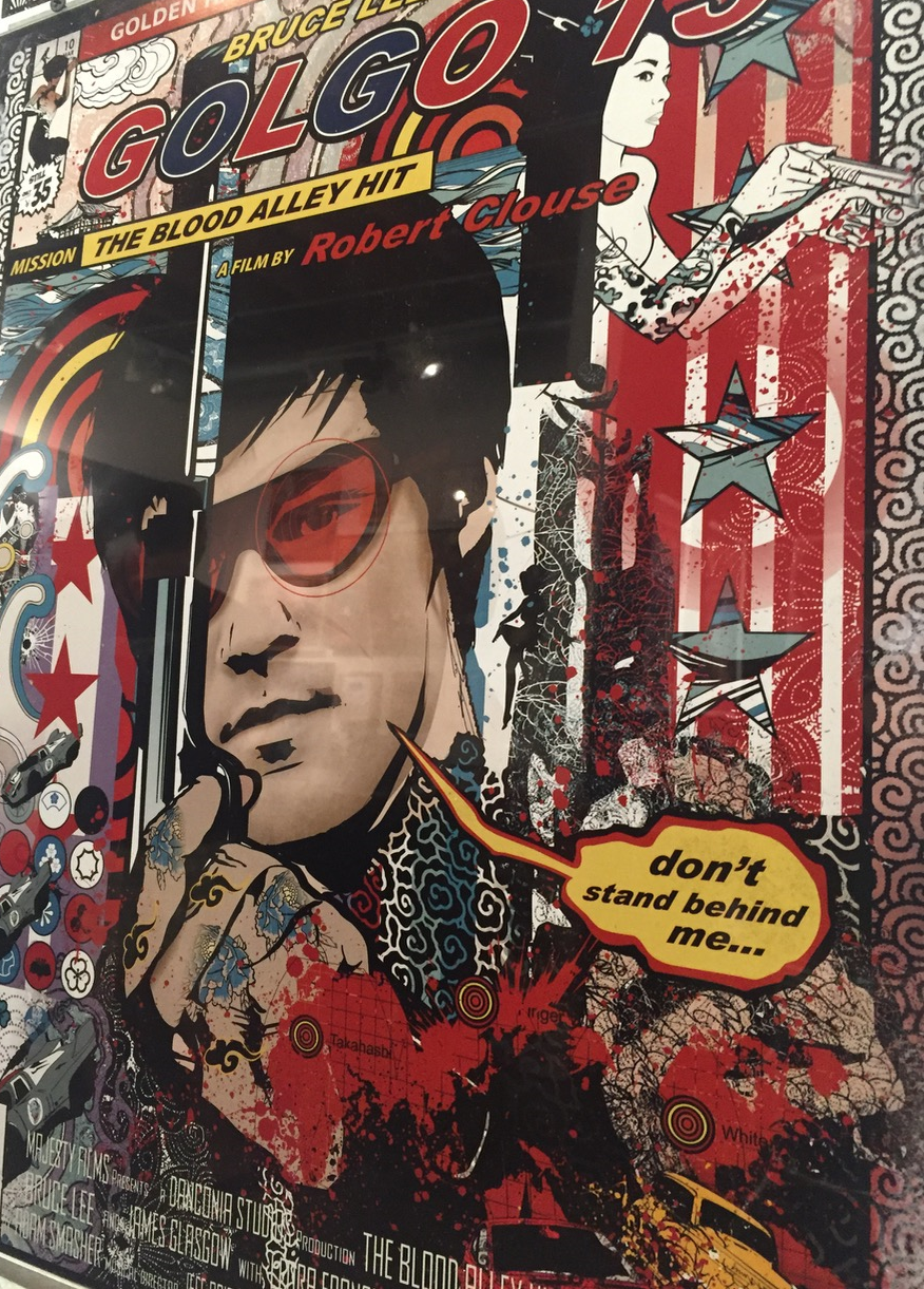 GOLGO 13 BRUCE LEE LOVE CHILD, AVAILABLE AT THE JOSEPH WATSON COLLECTION