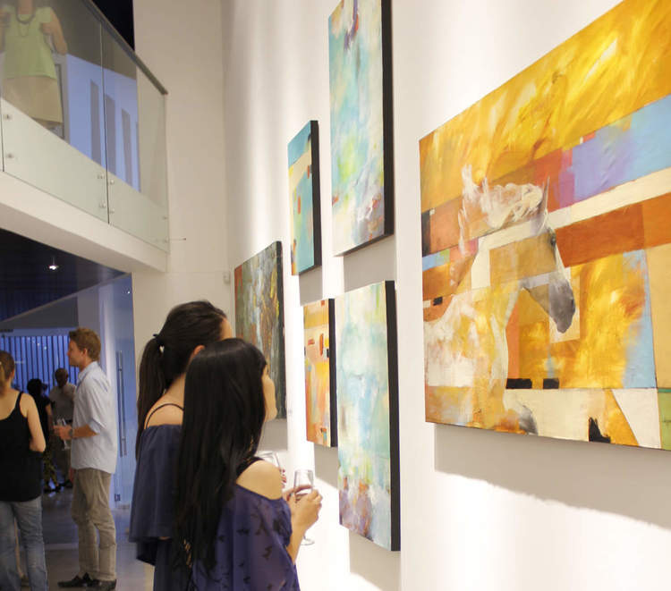 International Art Exhibition, Trece Galleria de Arte Featured Artist / Santiago, Chile