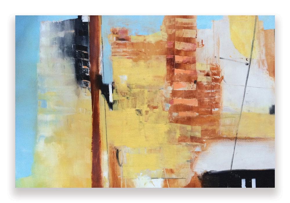 SUMMIT /  SOLD   36 x 24 x 1.5  Oil on Wood Panel