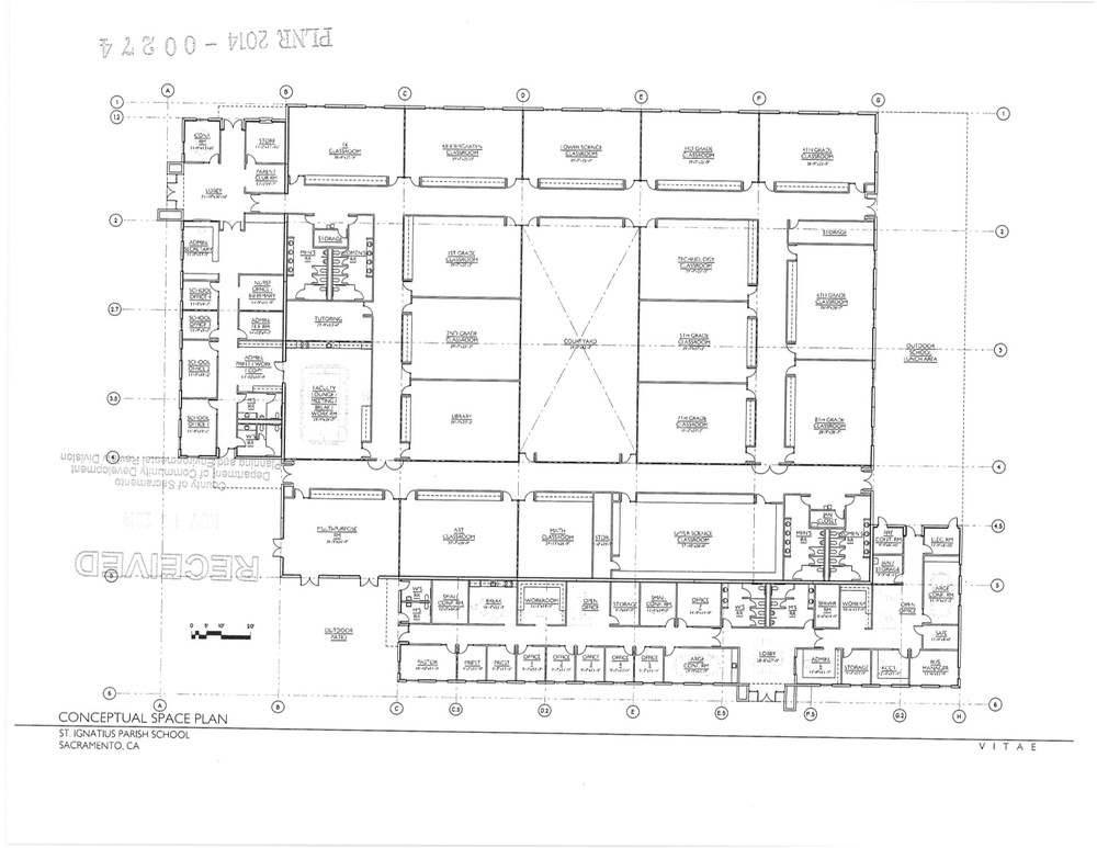 Conceptual Plan for Proposed Structure