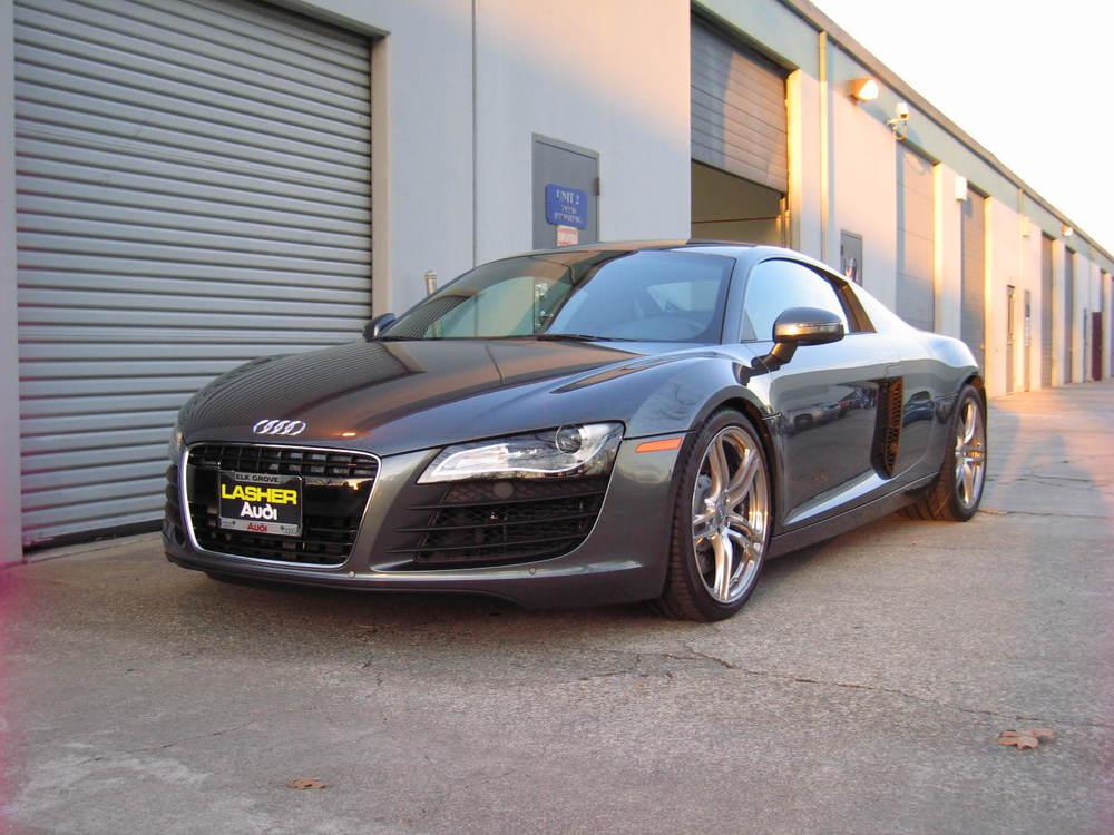 Audi R8 3/4 View