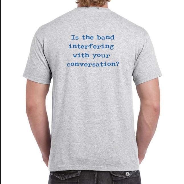 Is Band Interfering T-Shirt / Ash CLICK HERE TO PURCHASE!