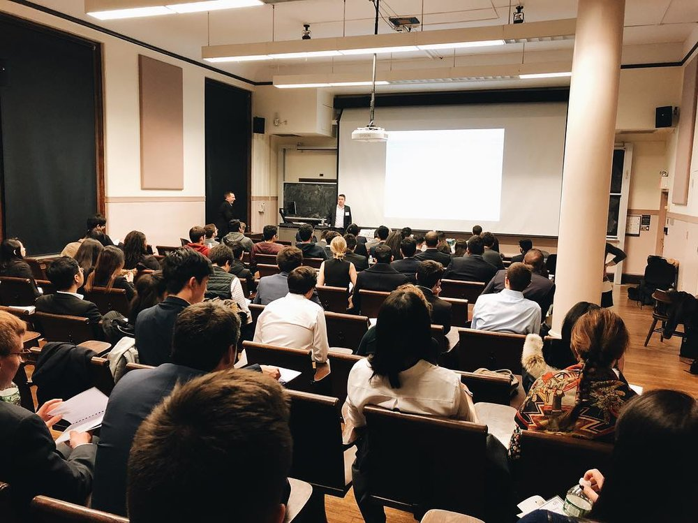 We've worked with various companies to bring the best pre-professional finance and consulting events to Columbia University -