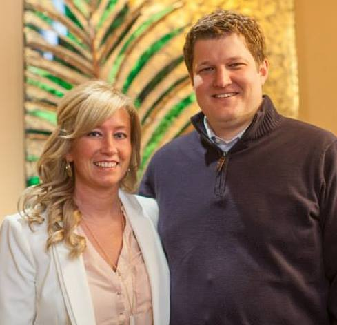 Dr Gray is married to Eric Gray, the clinic office manager, pictured above.