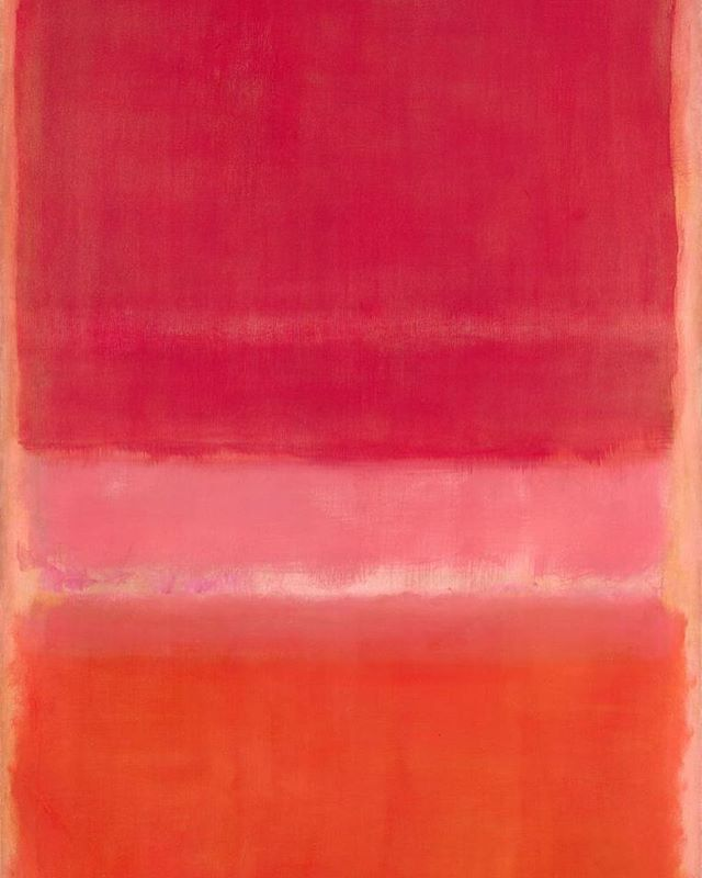 Monday Inspiration: Mark Rothko's stunning colors 🌸 Perfect for the 🍇 earrings. Link in bio! #mondayinspiration #markrothko
