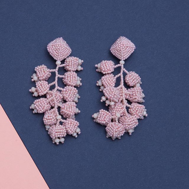 Start obsessing 🌸 check out our new #rose #statementearrings 💕 link in bio!
