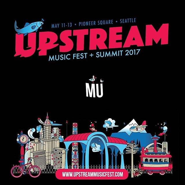Seattle we're coming back! Catch us this weekend at @upstreamusicfest at Qualithy Atletics, with Mike Edel and @saidthewhale on Saturday night 😍