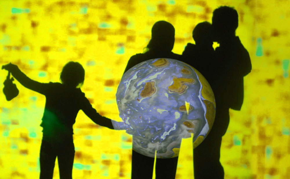 The Hidden Light    Interactive light installation about other worlds    more