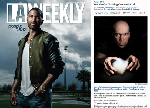 "LA Weekly: Selected as ""One of the Most Interesting People in LA"""