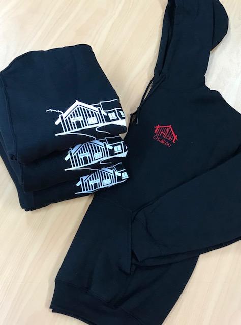 Te Runanga o Otakou hoodies front view $50 each