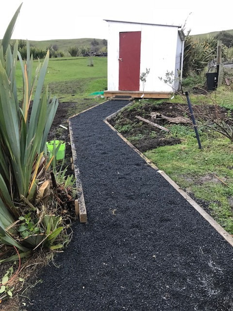 New path to Garden shed