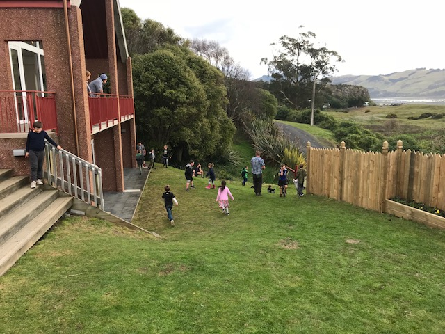 The tamariki did not let the chillier end of the day spoil their fun!