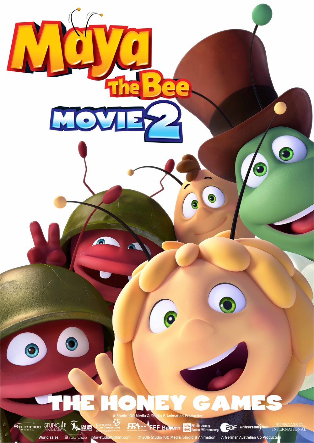 MAYA THE BEE: MOVIE 2
