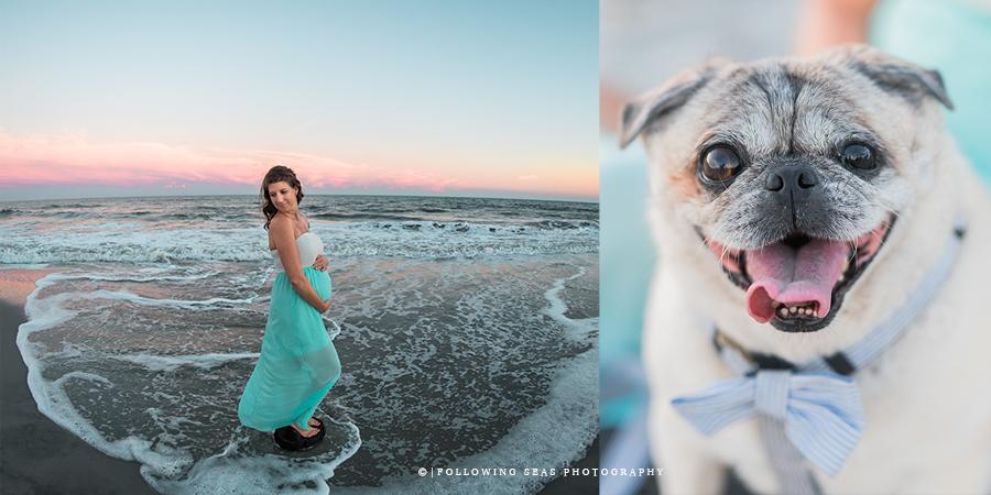 Folly Beach Maternity Photographer