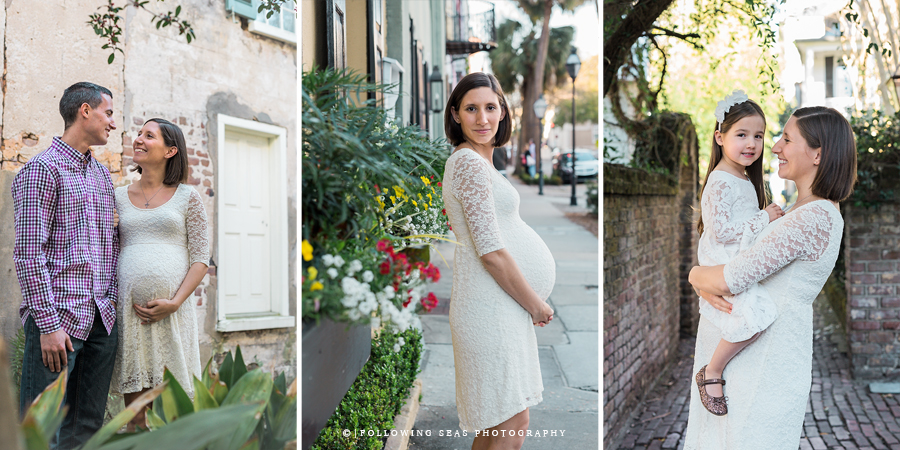 Downtown Charleston Maternity Session