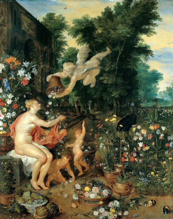 Painting of Floraand Zephyr