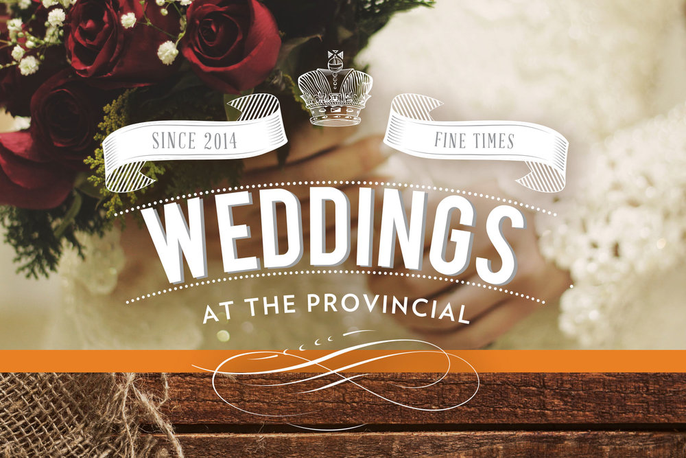 Weddings at the Provincial Edmonton, Alberta