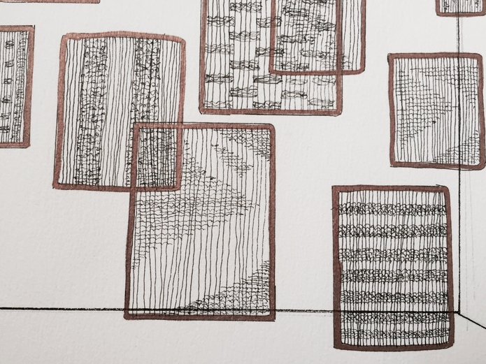 INSTALLATION PROPOSAL DRAWING, 2015 /Detail