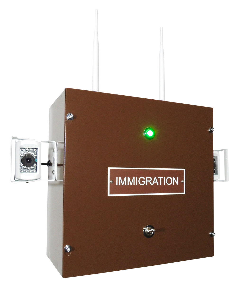 Consumer Device: IMMIGRATION (on / off ), 2017