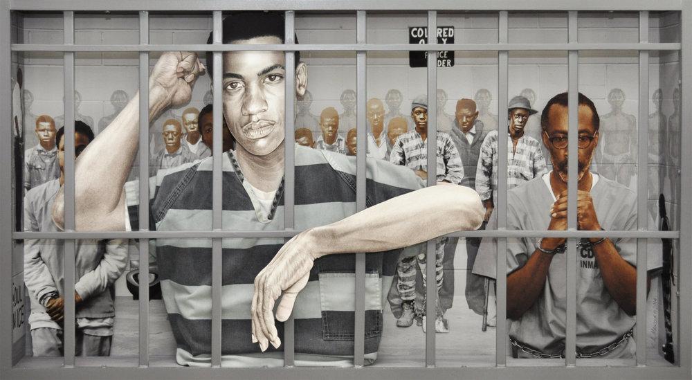 American Profile #3: Prison - Industrial Complex, 2014