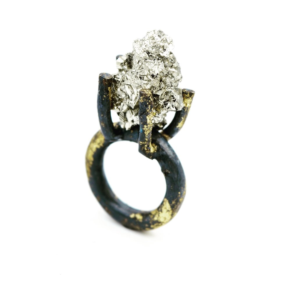 HERLANDS_JILL_BLACK & GOLD PYRITE RING.jpg